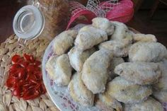 Jak upéct cukroví miništoly   recept Christmas 2017, Christmas Baking, Christmas Cookies, Cheesecake, Muffin, Food And Drink, Bread, Chicken, Vegetables