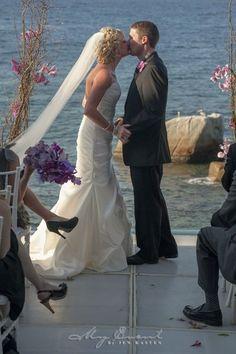 Ocean Front Wedding Ceremony #MEXPERT #Destinationwedding #Mexico #PuertoVallarta #OceanFront #PrivateVilla  www.myeventbyjenkasten.com
