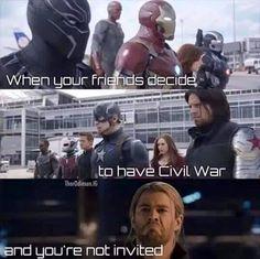 Poor Thor! #HappyThorsday...