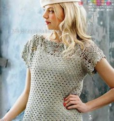 Romantic blouse with diagrams, use web translator for written instructions
