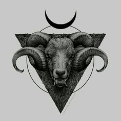 An option with geometric shapes. Again, I just like the illustrative details. Horns are a bit long.