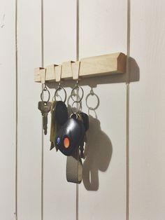 Dovetail Key Holder | Nifty little keychain holder - Album on Imgur