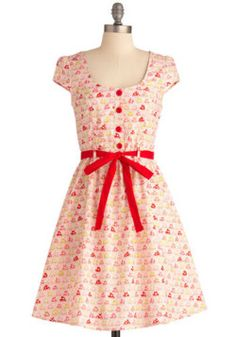 modclothmerveilles:  Toadstool their hearts dress