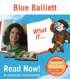 The seventh summer story is live on the Summer Reading Challenge website! Click through to read What If, by Blue Balliett. scholastic.com/summer #summerreading