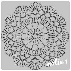 Watch The Video Splendid Crochet a Puff Flower Ideas. Phenomenal Crochet a Puff Flower Ideas. Motif Mandala Crochet, Crochet Potholder Patterns, Crochet Coaster Pattern, Crochet Diagram, Crochet Chart, Crochet Squares, Crochet Stitches, Free Doily Patterns, Free Pattern