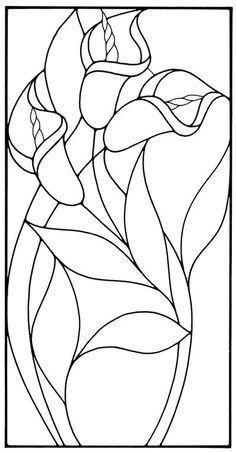 Résultats de recherche d'images pour « flower patterns to trace and paint Glass Painting Patterns, Stained Glass Patterns Free, Glass Painting Designs, Stained Glass Quilt, Stained Glass Flowers, Faux Stained Glass, Stained Glass Designs, Stained Glass Panels, Stained Glass Projects