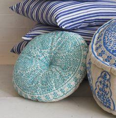exotisches Flair mit marokkanischen Sitzkissen