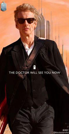 Peter Capaldi begins his final season as the 12th Doctor. 15 April 2017.