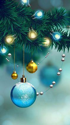Christmas Vases, Magical Christmas, Christmas Scenes, Vintage Christmas Ornaments, Christmas Art, Christmas Greetings, Beautiful Christmas, Christmas Holidays, Christmas Lights Background