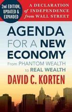 David Korten manifesto on protecting our Main Street market capitalism from Wall Street casino capitalism.