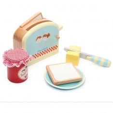Holz Toaster Set