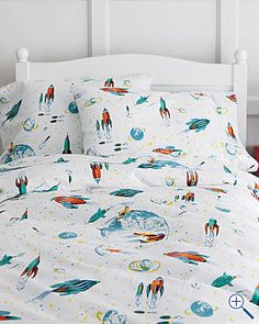 glow in the dark white rockets flannel bedding this will pair perfect