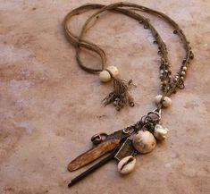 Amulet necklace by Desert Talismans by Michele Austin