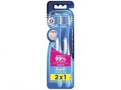 Escova Dental Oral-B Pró-Saúde - 2 Peças com as melhores condições você encontra no Magazine Slgfmegatelc. Confira!
