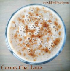 Looking for a Healthy Version of Starbucks' Chai Latte? This Creamy Raw Vegan Chai Latte Will Rejuvenate Your Skin & Warm You Up from Head to Toe!