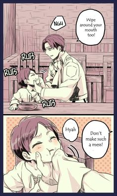 Attack on Titan - Little Eren, Mikasa, Armin, Levi, and Hanji : Hanji's Experiment Part 15 / 39