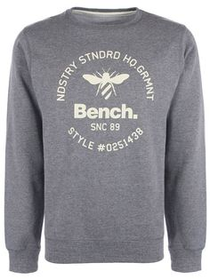 Sweat col rond Bench streetwear Homme - Modèle MANIEM Bench Clothing, Street Wear, Crew Neck, Sweatshirts, Sweaters, Clothes, Collection, Fashion, Streetwear Clothing