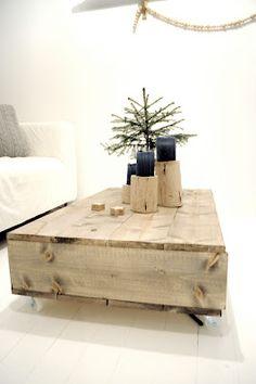 lykkelee: Salongbord {DIY} Table, Diy, Furniture, Home Decor, Decoration Home, Bricolage, Room Decor, Tables, Diys