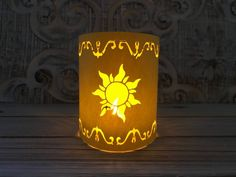 Items similar to Tangled Lantern Painting, I See The Light, Rapunzel, Mini Disney Painting, With Easel on Etsy Hanging Paper Lanterns, Small Lanterns, Sky Lanterns, Walt Disney Animation, 30th Birthday Ideas For Women, Tangled Lanterns, Grandes Photos, Table Centerpieces, Centerpiece Wedding