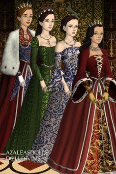 Tudor Dress Up, Concept Clothing, Tudor Fashion, Doll Divine, Medieval Dress, Doll Costume, Bridesmaid Dresses, Wedding Dresses, Character Design Inspiration
