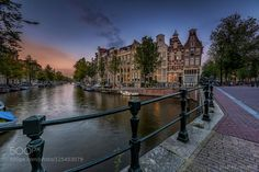 Amsterdam Sunset by mofotografie. Please Like http://fb.me/go4photos and Follow @go4fotos Thank You. :-)