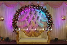 Reception Stage Decor, Wedding Backdrop Design, Wedding Stage Design, Wedding Reception Backdrop, Wedding Mandap, Wedding Receptions, Indian Wedding Stage, Wedding Bride, Wedding Table