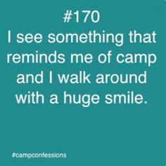 Confessions of campers, counselors, and life long outdoor enthusiasts. Feel free to contact us. Summer Camp Quotes, Church Camp, Camp Counselor, Memories Quotes, Camping Parties, Thats The Way, Camping Life, Smile Quotes, True Stories