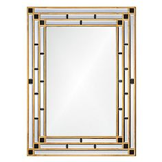 The art deco movement was a truly special time in interior design. This Art Deco Mirror features a bold gold design that will look great in any room. Add this sleek and sophisticated decoration to your home to give it a wonderful classic feeling. Art Deco Decor, Art Deco Home, Art Deco Design, Art Deco Bathroom, Art Deco Mirror, Art Nouveau, Bliss Home And Design, Estilo Interior, Modernisme