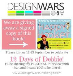 """Win a signed copy of """"The Happy Hooker"""", yes please!"""