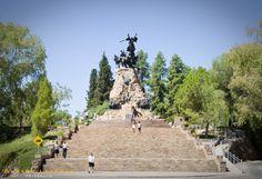 CERRO DE LA GLORIA - MENDOZA - ARGENTINA  Monumento al Ejercito de los Andes, liderado por el padre de la Patria el General Jose de San Martín    PHOTO BY GASTÓN LARROSA   http://www.flickr.com/photos/gaslarrosa/
