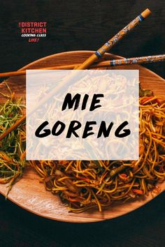 Have you ever had Mie Goreng? This sweet and spicy Indonesian noodle was popularized by street vendors, but is frequently served at fine dining establishments. Mie Goreng Recipe, Street Vendor, Sweet And Spicy, Cooking Classes, Fine Dining, Noodle, Recipes, Noodles, Recipies