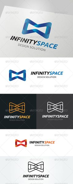 Infinity Space Logo by LayerSky This logo design for all creative business. Consulting, Excellent logo,simple and unique concept. Logo Template FeaturesAI and EPS