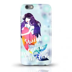 JUNIWORDS Handycase Galaxy Mermaid