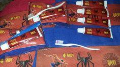 Lembrancinhas personalizadas: Homem Aranha