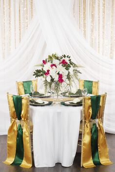 Beautiful Lime Green Tablecloth