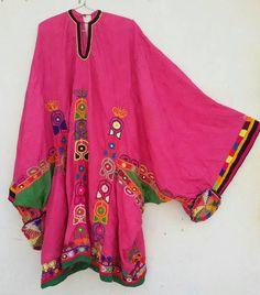 Tribal Vintage Pashtun Woman's dress
