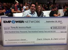 Our successful member with his check :)) How would you like to make that kind of money! Click the link below to find out how you can do it! http://www.createsuccessfullife.com/my-module-for-success-in-network-marketing/