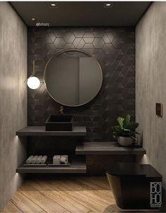 ideas for bath room dark marble showers Bathroom Design Luxury, Modern Bathroom Design, Luxury Bathrooms, Master Bathrooms, Dream Bathrooms, Bathroom Designs, Beautiful Bathrooms, Bad Inspiration, Room Tiles