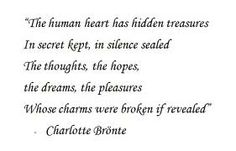 jane eyre quotes - the human heart has hidden treasures.