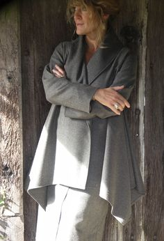 Paris Jacket over wrap skirt in tweed (available in various colours).