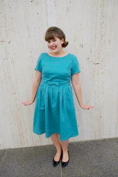 Rosie Wednesday: Adventures in Vintage-Style Sewing: Pattern Testing for Christine Haynes Emery Dress