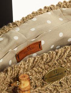 Matoohandmade Tote Bag Burlap, Reusable Tote Bags, Crochet Bags, Crochet Purses, Hessian Fabric, Crochet Clutch Bags, Jute, Crocheted Bags, Canvas