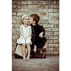 #kiss #kids #down that little lane