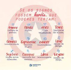 Se os signos fossem heróis, que poderem teriam? Aquarius, Pisces, Signo Libra, Im Jealous, Im Selfish, Reiki, Horoscope, Zodiac Signs, Memes