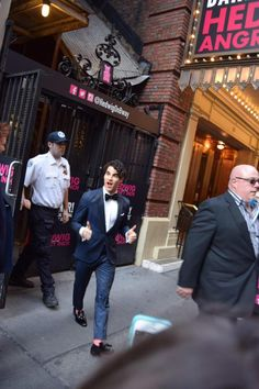 On the way to the Tonys 6/7/15