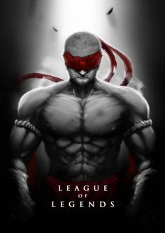 Lee Sin :: League of Legends :: fan art #lol #gaming