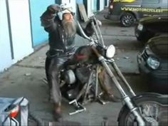 Superbike vs Rat bike. HILDO. I have a new role model. This guy is the real deal.