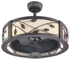 Harbor Breeze Eastview Aged Bronze Ceiling Fan - modern - ceiling fans - by Lowe's  Love for the bedroom!