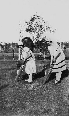 Two female cricketers (identified as May and Rose Walker) at Woodford, Queensland, Australia during the – sportystyle. Jordan Retro 11 Low, 20th Century Women, Tiffany Blue Nikes, Nike Shoes For Sale, Dapper Day, Photographs Of People, Australian Fashion, Sporty Style, Outdoor Photography
