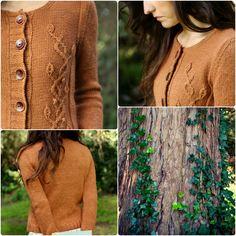 Never Not Knitting: Botanical Knits 2 Pattern - Sweater.